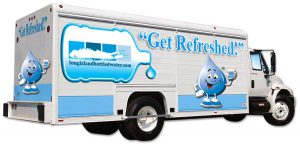 Water Delivery Truck