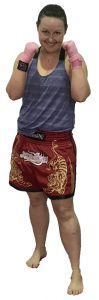 tanya kendall - muay thai kids instructor